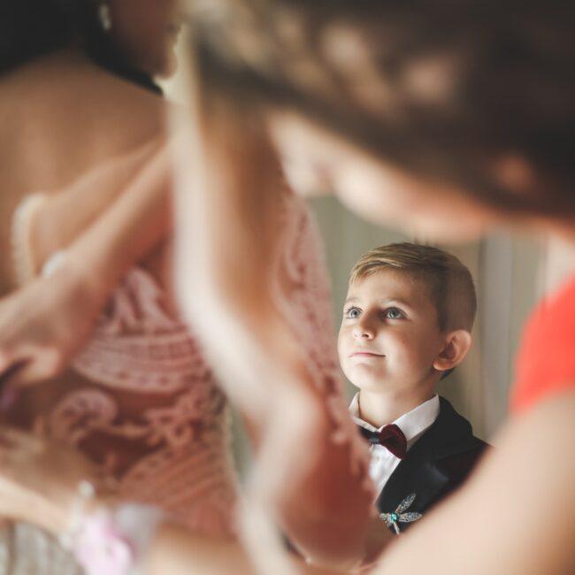 matrimonio con bambini