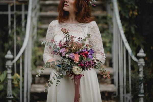 bouquet per il matrimonio vintage