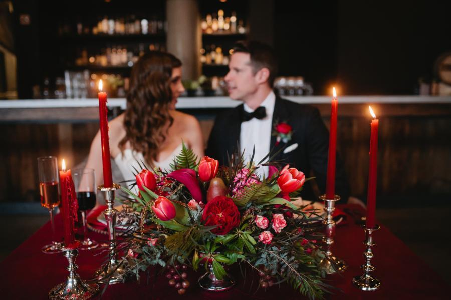 Bouquet matrimonio a san valentino