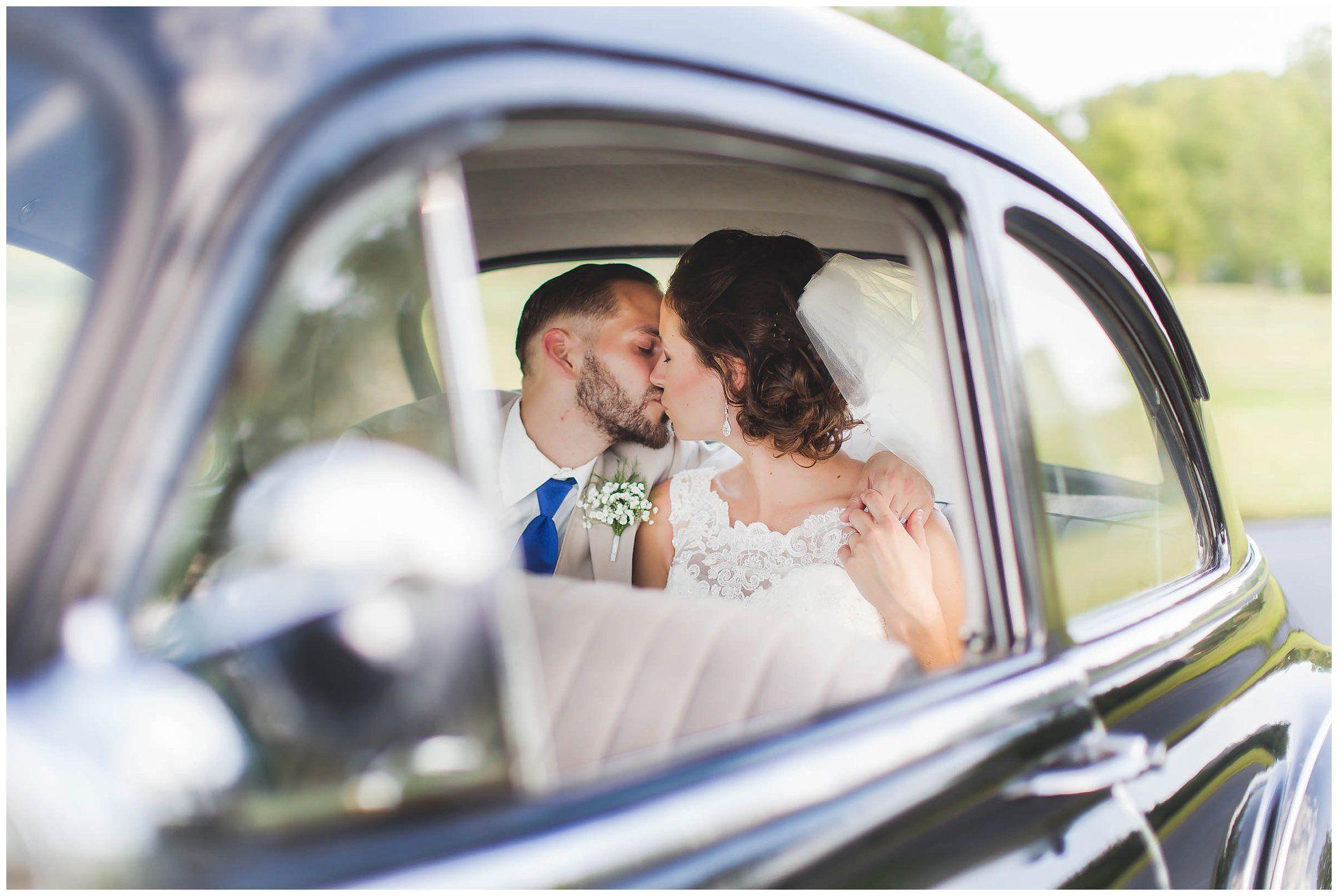 macchina degli sposi