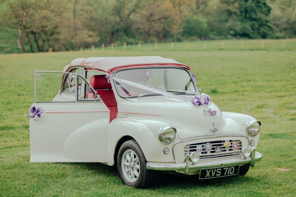 auto d'epoca per gli sposi